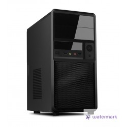 ITEK case SPIDER mini tower ATX 500W Black Mesh