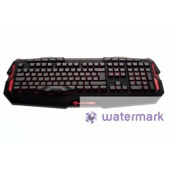 ITEK Tastiera Scorpion Deep Sea Gaming Red