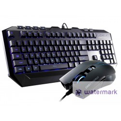 COOLER MASTER STORM Tastiera e Mouse Bundle Gaming Devastator II Blu