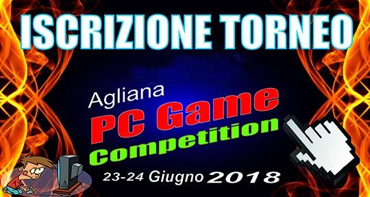 Iscrizione Agliana Pc Game Competition